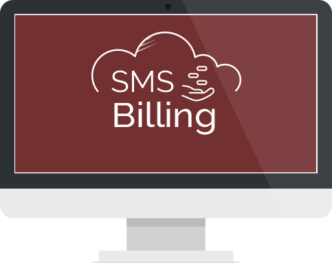 SMS BILLING SYSTEM screen