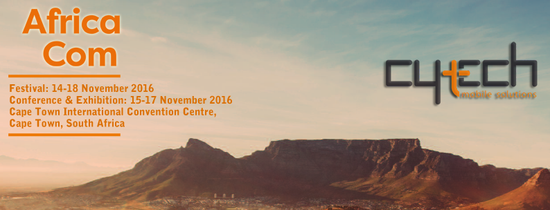 Cytech at AfricaCom 2016